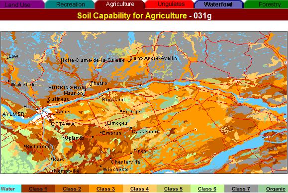 agriculture capability map