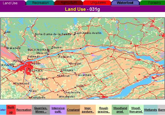 present land use map