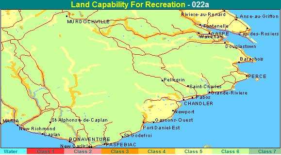 recreation capability map