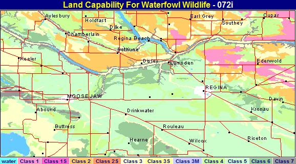 waterfowl capability map